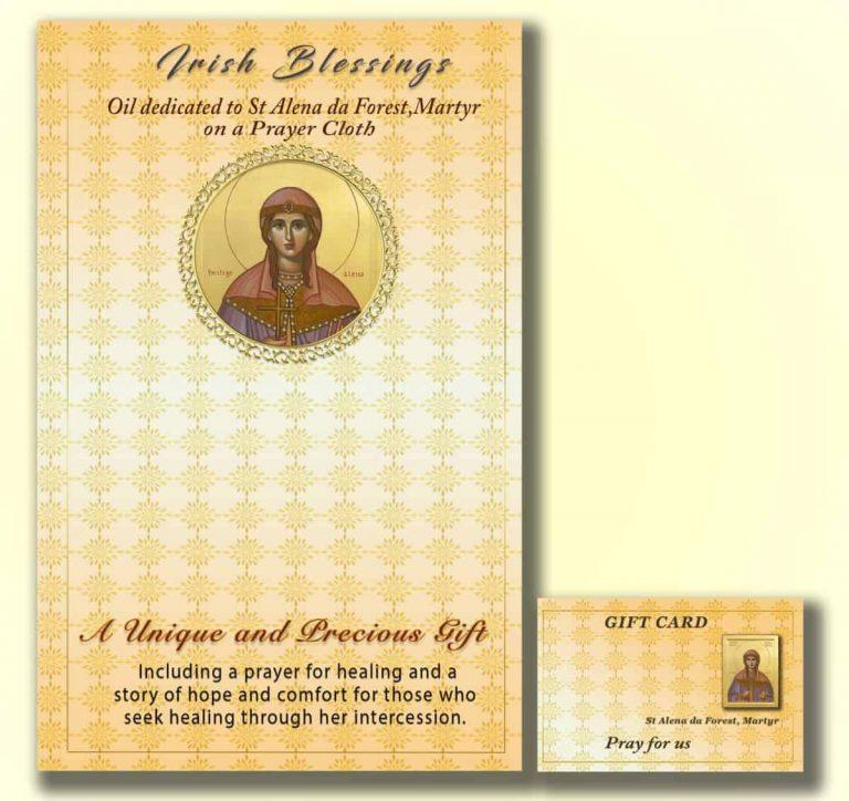St Alena da Forest on prayer cloth
