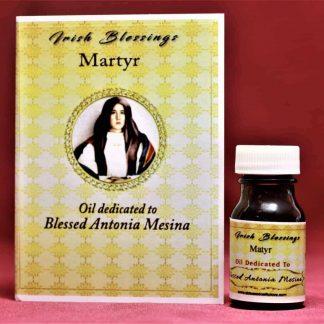 Blessed Antonia Mesina healing oil