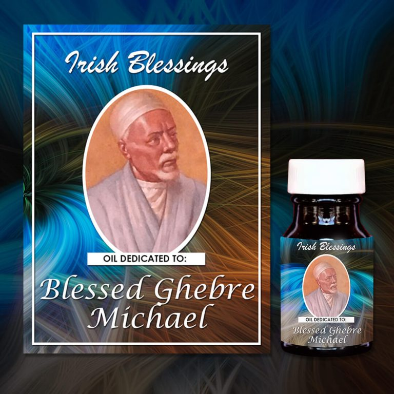 Blessed Ghebre Michael healing oil