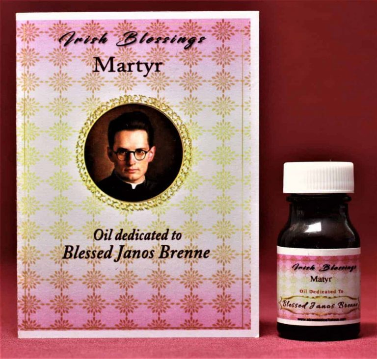 Blessed Janos Brenne healing oil