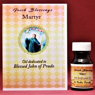 Blessed John of Prado healing oil