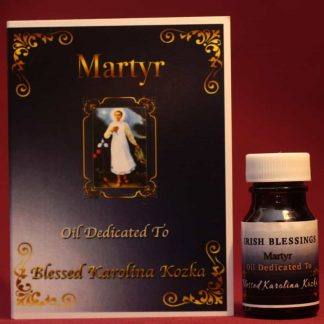 Blessed Karolina Kozka (martyr) healing oil