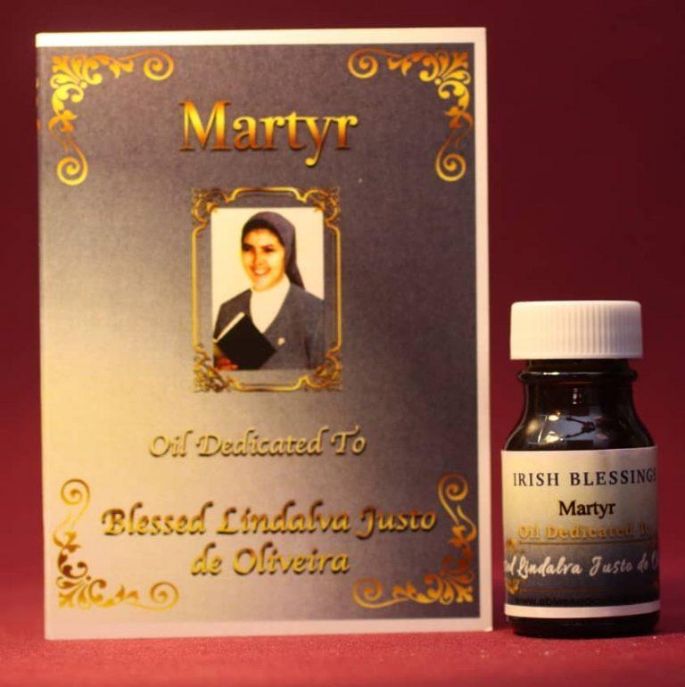 Blessed Lindalva de Oliveira (martyr) healing oil