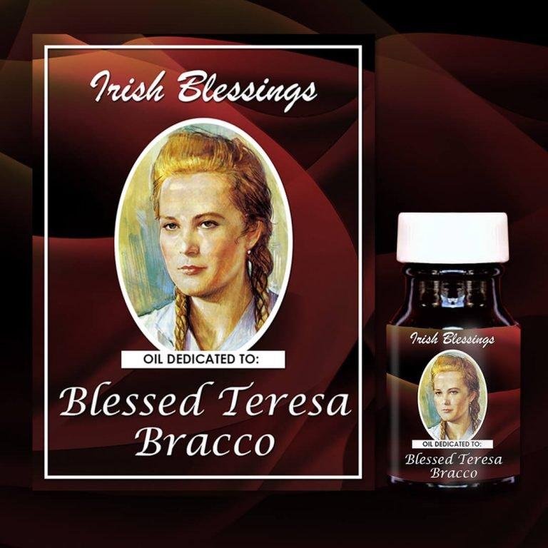 Blessed Teresa Bracco 1 healing oil