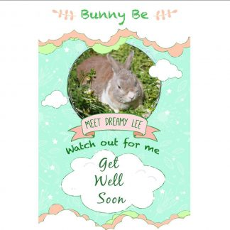 Bunny Be Dreamy Lee greeting card
