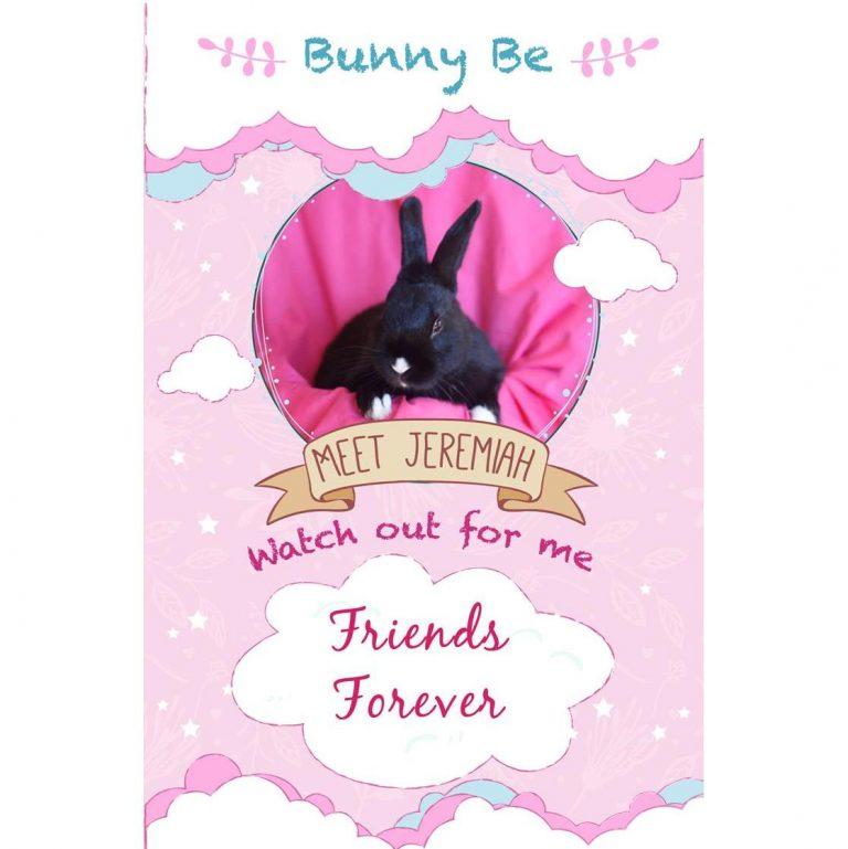 Bunny Be Jeremiah greeting card