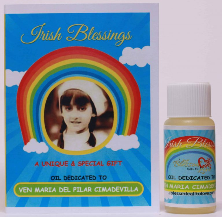 Ven Maria del Pilar Cimadevilla healing oil