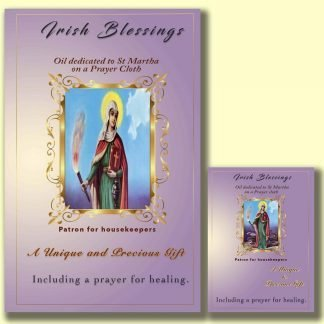 St Martha on Prayer Cloth (Patron for housekeepers)