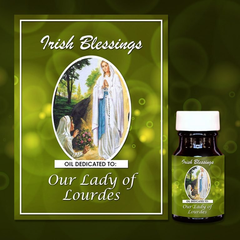 Our Lady of Lourdes Healing Oil