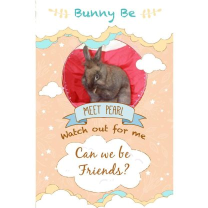 Bunny Be Pearl greeting card