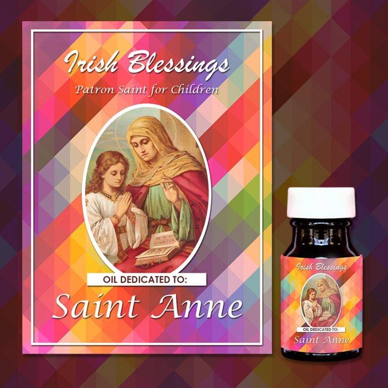 St Anne Healing Oil (Patron Saint for Children)