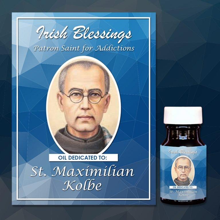 St Maximilian Kolbe Healing Oil