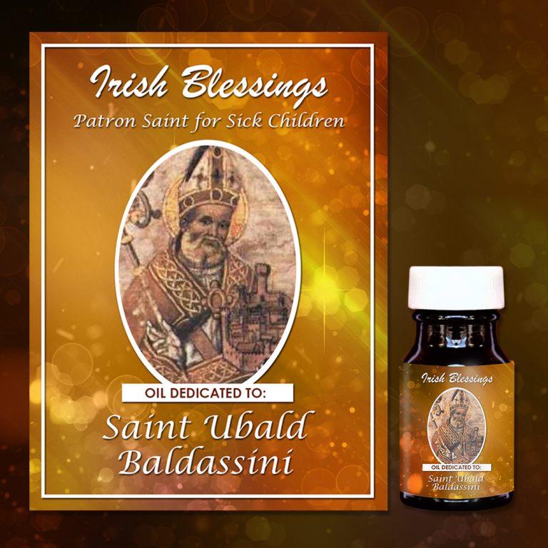 St Ubald Baldassini healing oil 2