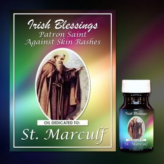 St Marculf healing oil (Patron Against Skin Rashes)
