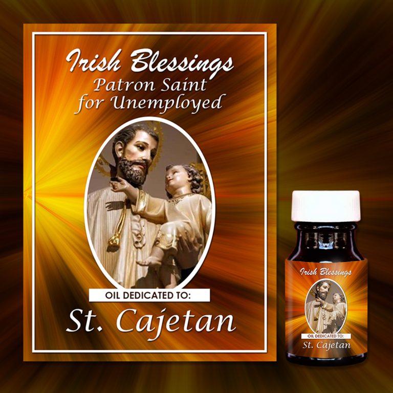 St Cajetan healing oil (Patron for Unemployed)