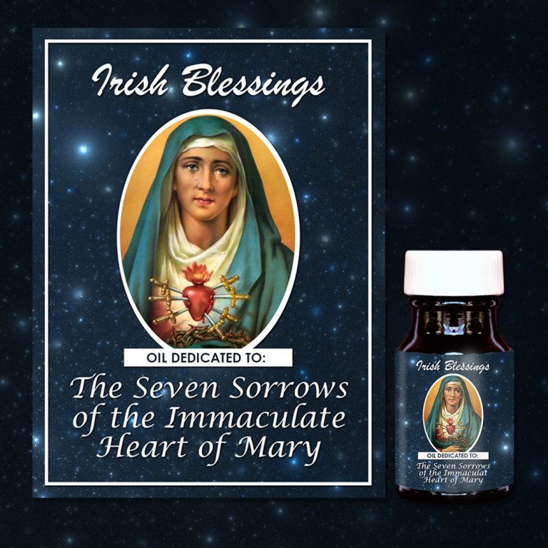 Seven Sorrows of Our Lady Healing Oil