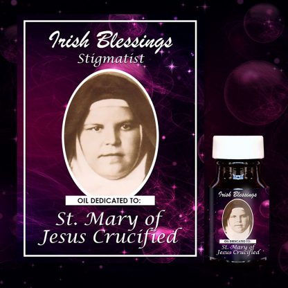 St Mary of Jesus Crucified healing oil