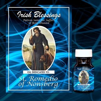 St Romedio of Nonsberg healing oil (Patron for Bone Diseases)