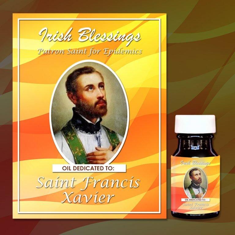 St Francis Xavier healing oil
