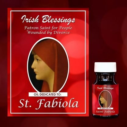 St Fabiola healing oil (Patron for People Wounded by Divorce)
