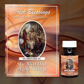 St Martha Healing Oil (Patron Saint for Housewives)