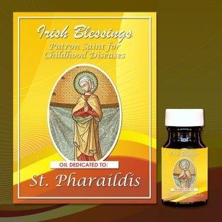 St Pharaildis healing oil