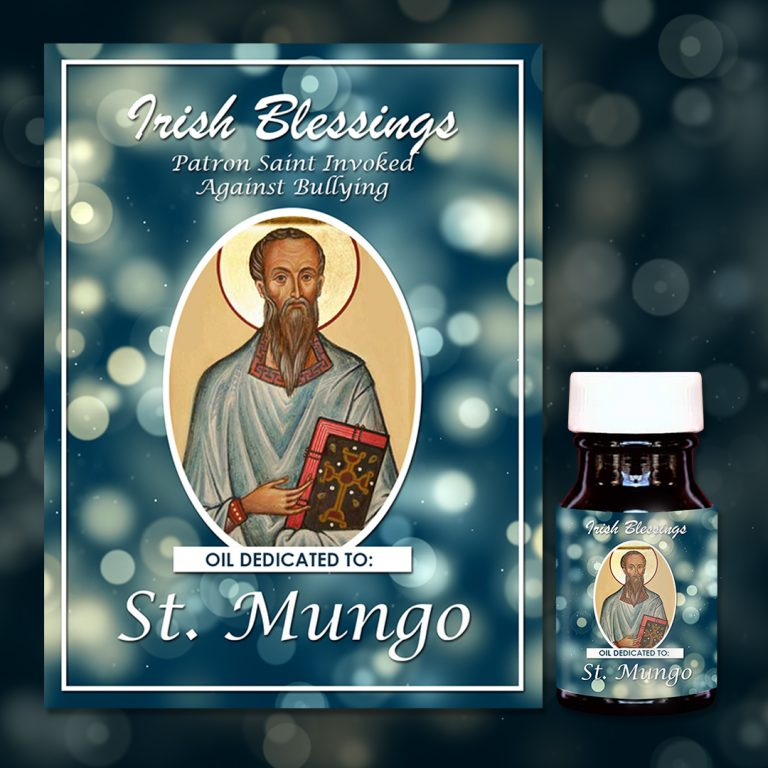 St Mungo healing oil (Patron Saint Invoked Against Bullying)