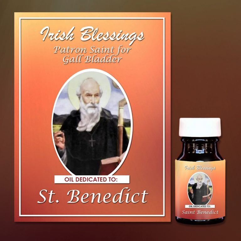 St Benedict Healing Oil (Patron for Gall Bladder)