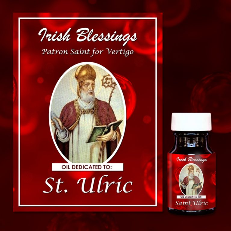 St Ulric healing oil (patron saint for vertigo)