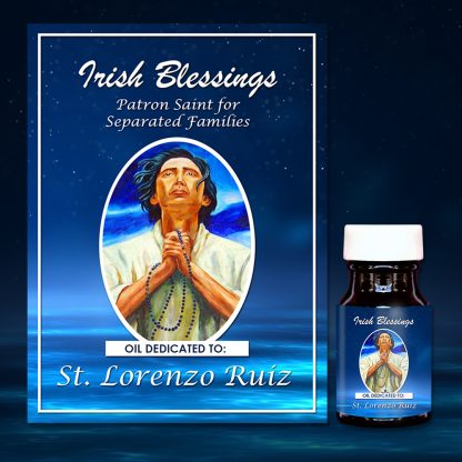 St Lorenzo Ruiz healing oil (patron for separated families)
