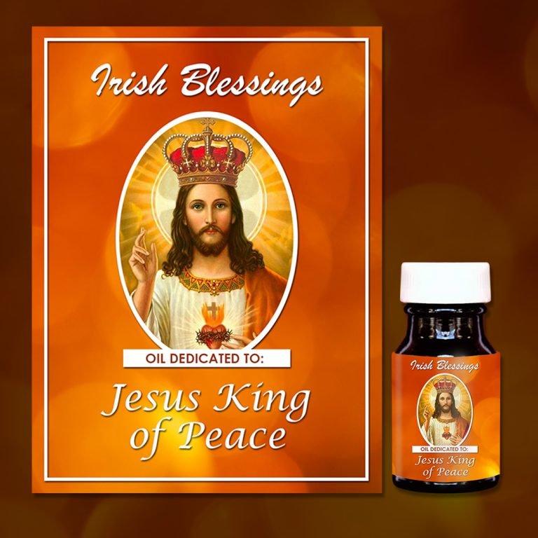 Jesus King of Peace healing oil