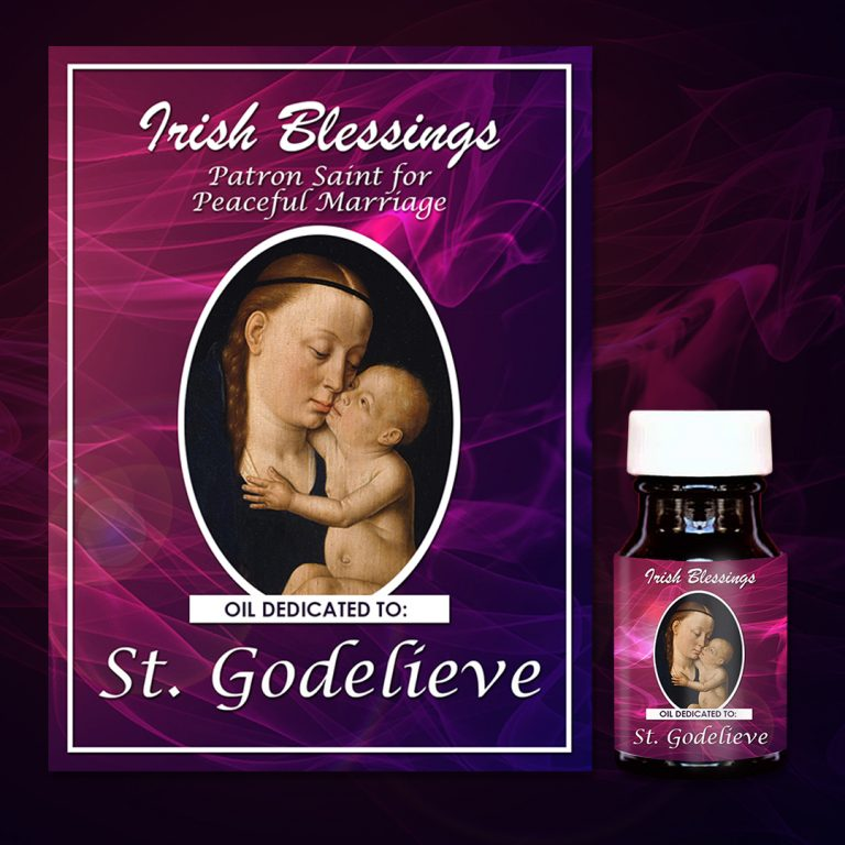 St Godelieve healing oil (patron for peaceful marriage)