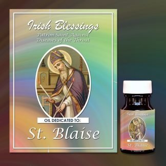 St Blaise Healing Oil (Patron of ears, nose and throats)