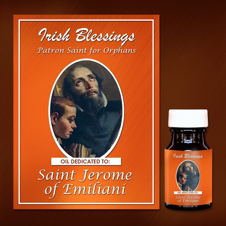 St Jerome of Emiliani healing oil (for Orphans)