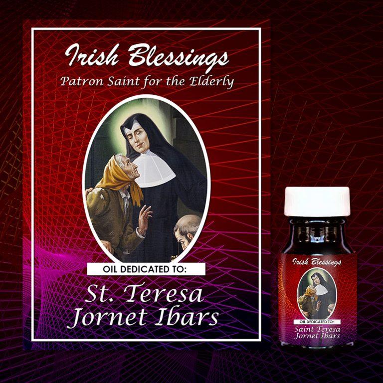 St Teresa Jornet Ibars healing oil (patron for elderly people)