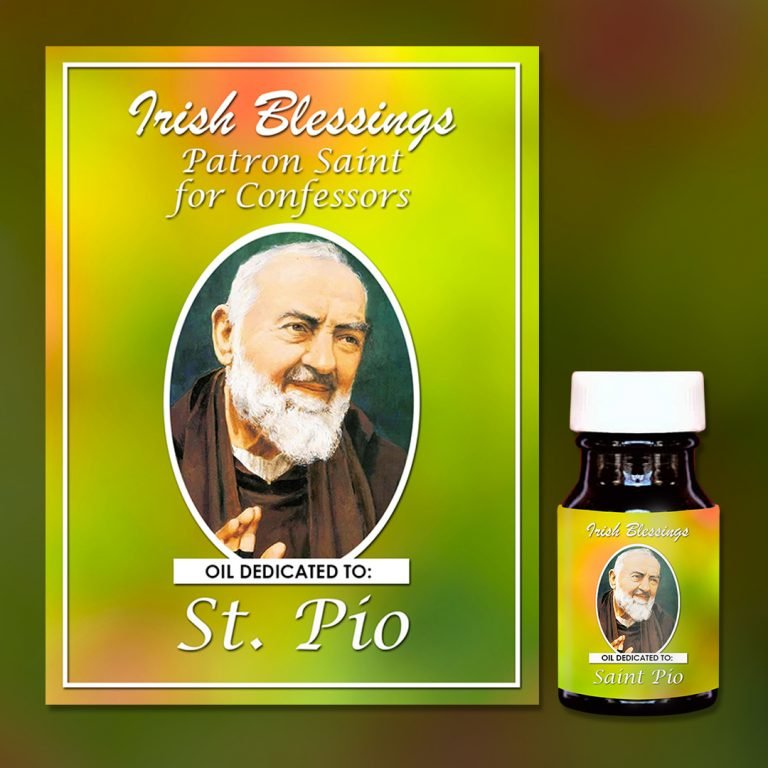 St Pio Healing Oil (Patron of Confessors)