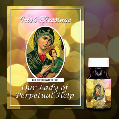 Our Lady of Perpetual Help Healing Oil