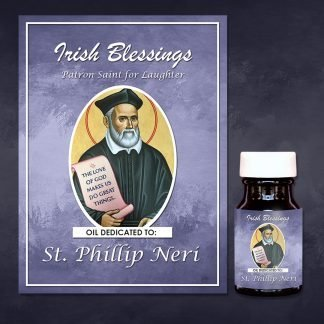St Phillip Neri Healing Oil (Patron Saint for Laughter)