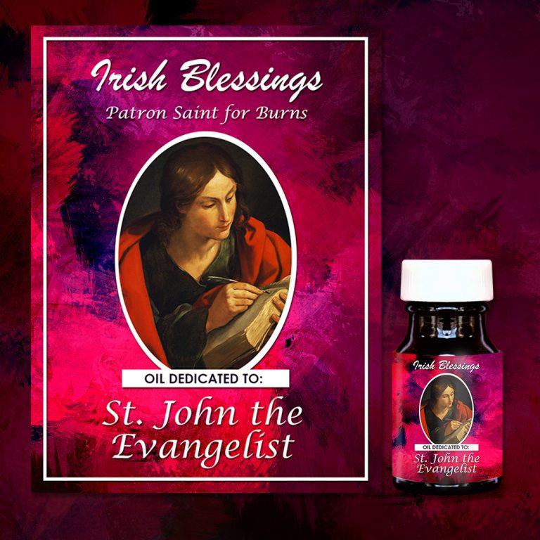 St John the Evangelist healing oil (Patron Saint for Burns)