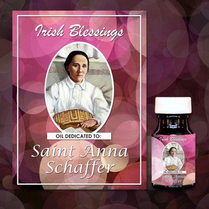St Anna Schaffer healing oil