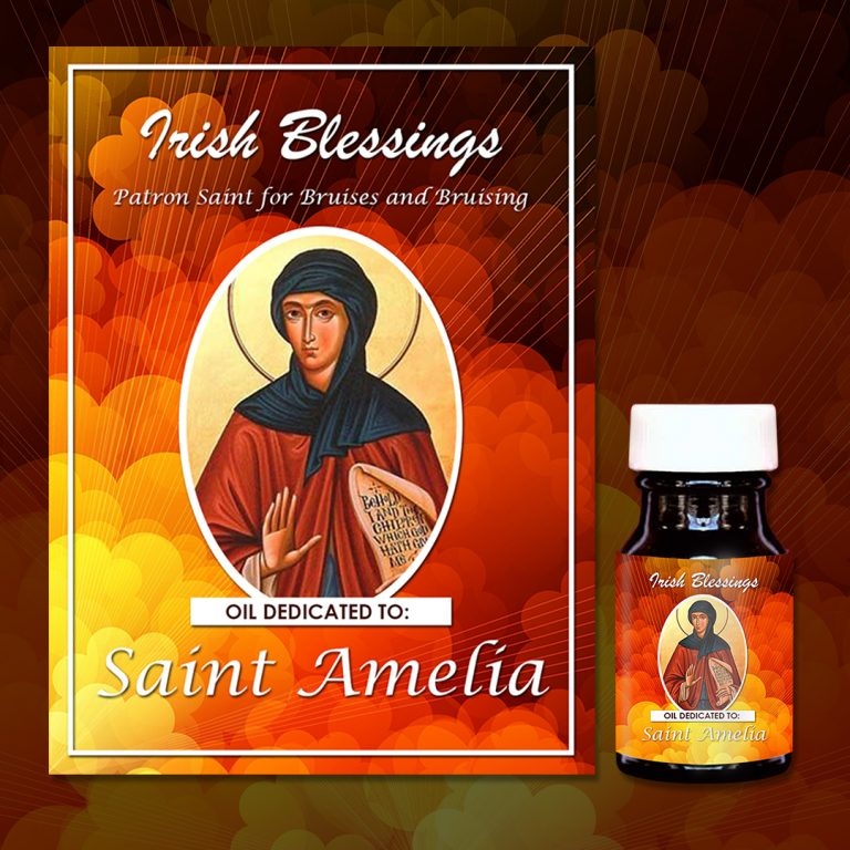 St Amelia healing oil (Patron Saint for Bruises and bruising)