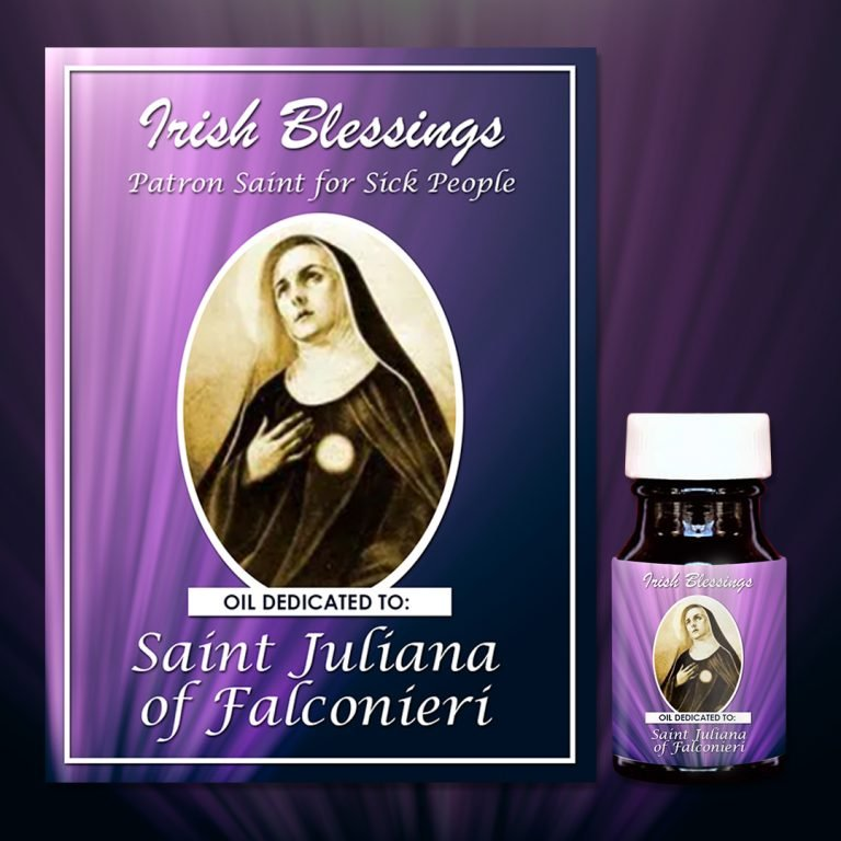 St Juliana of Falconieri healing oil (patron for sick people)