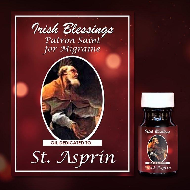 St Aspren Healing Oil