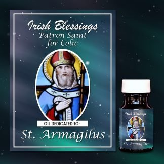 St Armagilus healing oil (Patron for Colic)