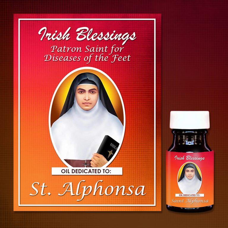 St Alphonsa healing oil