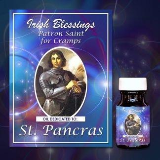 St Pancras healing oil (Patron for Cramps)