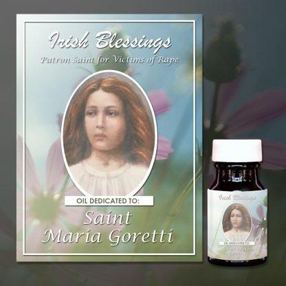 St Maria Goretti Healing Oil (Patron for Victims of Rape)