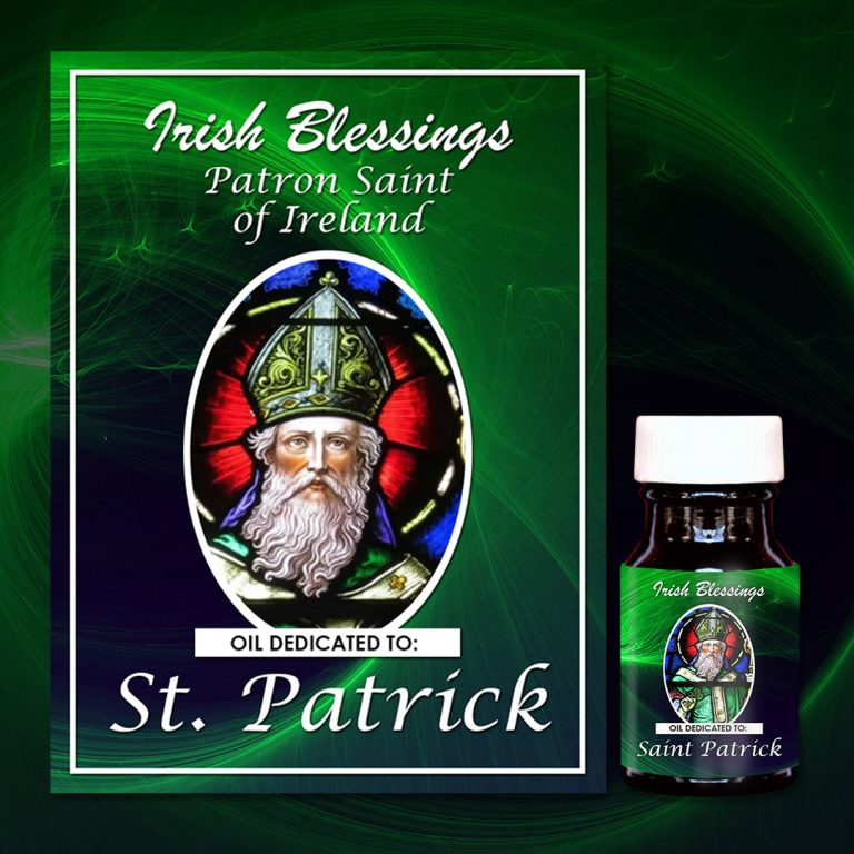 St Patrick Healing Oil (Patron of Ireland and engineers)