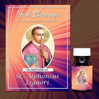 St Alphonsus Liguoiri healing oil (Patron Saint for Arthritis)