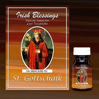 St Gottschalk healing oil (Patron Saint for Lost Vocations)